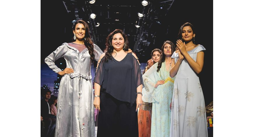 Bruna Abdullah Walks The Ramp At Asia Lifestyle Week